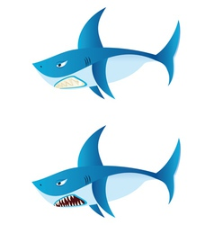 Great White Shark2 vector image vector image