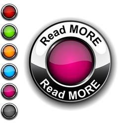 Read more button vector image vector image