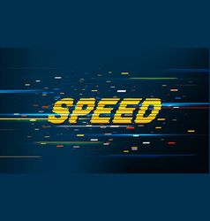 speed movement pattern background vector image