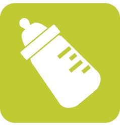 Milk bottle ii vector