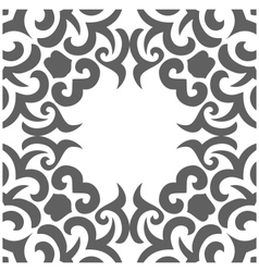 Abstract seamless pattern in mehndi style vector