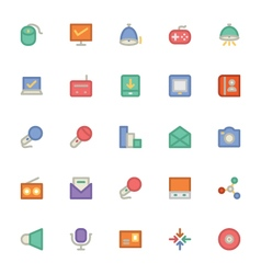 Communication icons 12 vector
