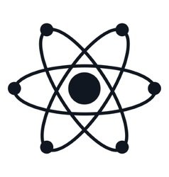 Isolated atom science vector