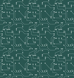 Seamless pattern Computer circuit board or vector image