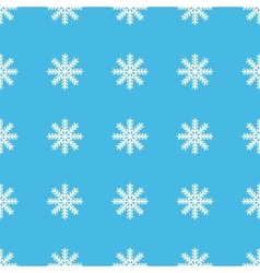 Snowflake straight pattern vector