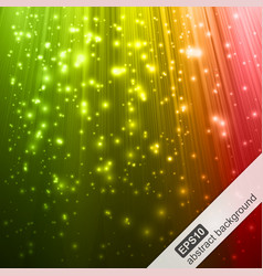 Abstract background with colorful magic light vector