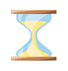 Isolated cute sand watch vector