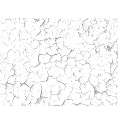 Plaster wall cracks texture vector