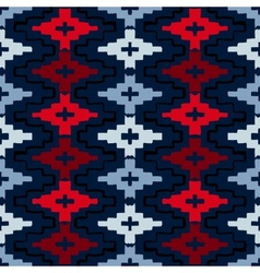 Native american geometric pattern vector
