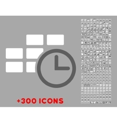 Time table icon vector