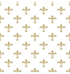 Fleur de lis seamless pattern french vector