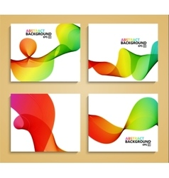 modern colorful abstract backgrounds vector image