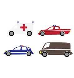 Cartoon cars 3 vector