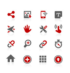 Sistem user interface icons vector
