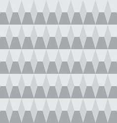 Grayscale seamless pattern geometric vector image