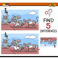 Preschool differences activity vector