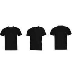 black man classice shirt vector image vector image