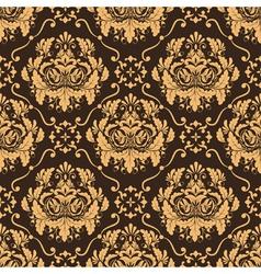 Elegant Damask Floral Pattern vector image vector image