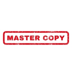 Master copy rubber stamp vector