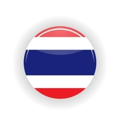 Thailand icon circle vector image