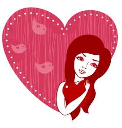 Valentines cartoon vector