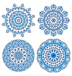 Ornamental ethnicity pattern vector