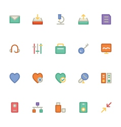 Communication icons 13 vector