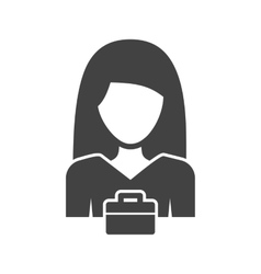 Woman business vector