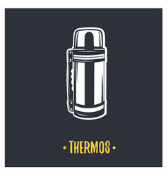 thermos vector image