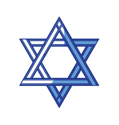 Star of david vector