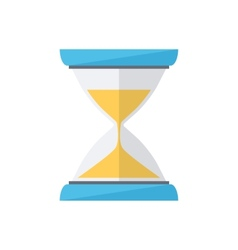 Sand clock time wait symbol vector