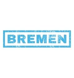 Bremen rubber stamp vector