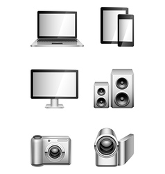 Computers and electronics vector image vector image