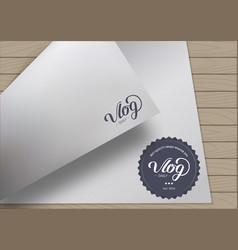 Emblem art design vector