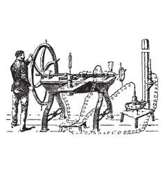 Gas liquidation vintage vector