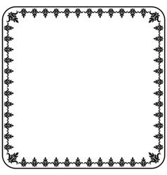 Gothic ornament decorative vintage elements vector