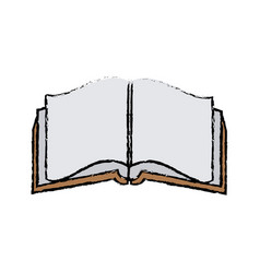 Open book literature encyclopedia learn vector