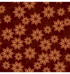 Brown geometric seamless texture vector