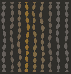 Seamless pattern with strings of beads vector