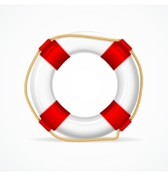 Life buoy ring vector