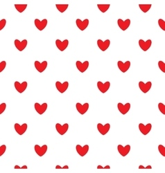 Happy valentines day seamless pattern background vector
