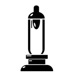 Car candle icon simple black style vector