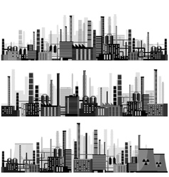 Industry Power plant vector image