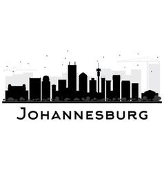 Johannesburg city skyline vector