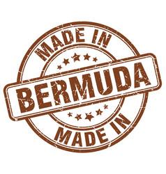 Made in bermuda vector