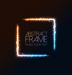 abstract frame background 2 vector image vector image