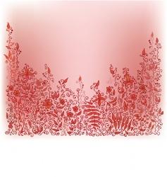 autumnal vignette vector image