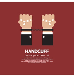 Handcuff vector