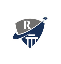 Justice law initial r vector