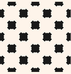 Seamless pattern with square vector
